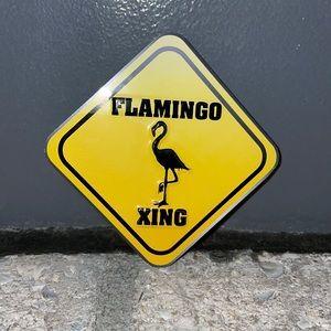 Flamingo Xing small magnet